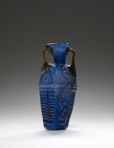 Amphoriskos; Unknown; Eastern Mediterranean; 1st century; Glass; 9 cm (3 9/16 in.); 2003.312