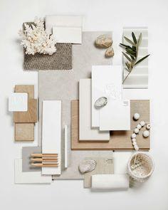 Mood Board Interior, Interior Design Boards, Moodboard Interior Design, Interior Inspiration, Design Inspiration, Material Board, Colour Board, Colour Schemes, House Colors