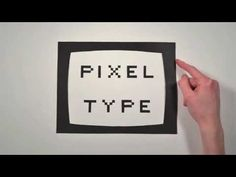 The History of Typography, A Paper Stop Motion Animation - - - Ben Barrett-Forrest