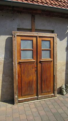 old french door alte franz sische haust r haust ren pinterest franz sisch. Black Bedroom Furniture Sets. Home Design Ideas