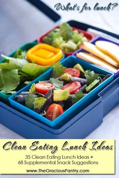 More Clean & Healthy Lunch Ideas