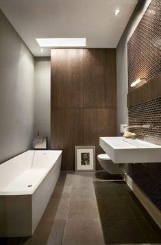 badgestaltung mit farbtupfern! mit wechselnden und frischen ... - Badezimmer Klinker