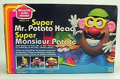 Childhood Memory Keeper: Retro Pop Culture from the 1960s, 1970s and 1980s: Mr. Potato Head
