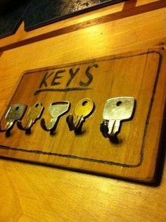 Ideas para organizar llaves