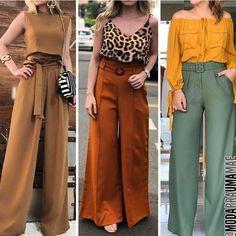 Style statement outfit ideas – Just Trendy Girls Boho Outfits, Classy Outfits, Trendy Outfits, Fall Outfits, Cute Fashion, Fashion Pants, Look Fashion, Fashion Dresses, Pantalon Elephant