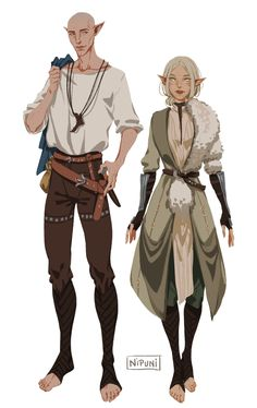 Nipuni solas and inquisitor lavellan