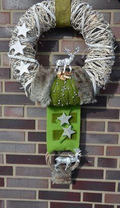 Burlap Wreath, Advent, Joy, Wreaths, Tips, Christmas, Home Decor, Garlands, Modern Christmas Decor