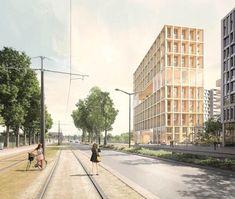 Znalezione obrazy dla zapytania LAN Paris XIII  Wooden tower