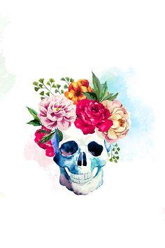 Skull sugar skull wallpaper, skull wallpaper iphone, flower phone w Arte Com Grey's Anatomy, Anatomy Art, Cute Wallpapers, Wallpaper Backgrounds, Iphone Wallpaper, Trendy Wallpaper, Tatto Skull, Image Swag, Skull Pictures