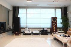 Home audio setup...