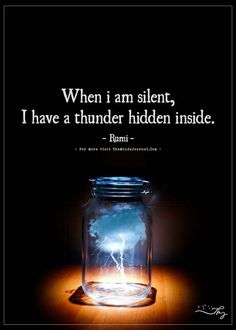 When I am silent... - https://themindsjournal.com/when-i-am-silent/