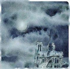 Cathedral Notre Dame, Paris, France - Printable Art, Instant Downloadable Images, Fine Art. by edeblas on Etsy