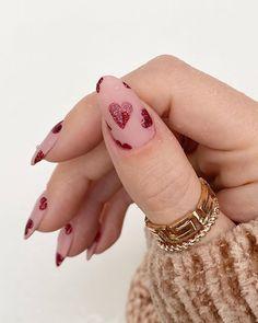 Shellac Nails, Diy Nails, Stylish Nails, Trendy Nails, Nail Atelier, Nail Art Printer, Nails Now, Claw Nails, Rose Nails