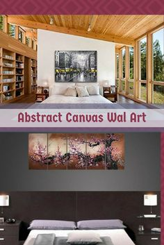 Abstract canvas wall art is trendy and beautiful.  It is popular due to the wide variety available.    You can enjoy bold shapes, cool materials and extremely vivid colors and designs.  Especially true when it comes to some of the framed canvas wall decor.  Abstract Canvas Wal Art - canvas wall art home decor