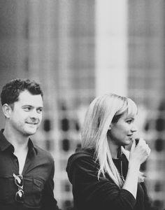 Anna Torv & Joshua Jackson #Fringe