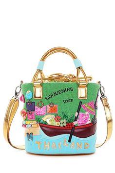 c0426032bdd2 Thailand inspired bag Handmade Handbags, Handbags On Sale, Tote Handbags,  Leather Handbags,