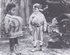 1937 - 'THREE SMART BOYS' Buckwheat, Spanky and Alfalfa