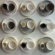 Dinner sets by Jono Smart