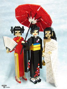 Fascinating and beautiful Lego custom creations (MOCs: my own creation) from round the world – artfully gathered together in interesting themes. Lego Movie Sets, Lego Jewelry, Lego Girls, Boys, Lego Bots, Lego Creative, Lego Sculptures, Lego People, Lego Figures