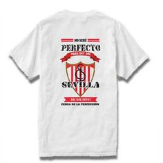 Camiseta Sevilla F. C. Personalizada