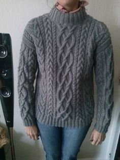 PULL irlandais modèles Bergère de France Sweater Fashion, Men Sweater, Aran Jumper, Cable Knitting, Jumpers For Women, Women's Jumpers, Clothing Hacks, Knitting Patterns Free, Knitting Projects