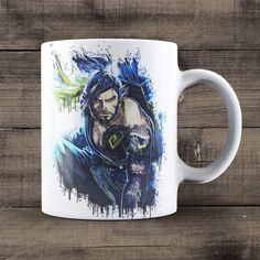 Hanzo Overwatch Coffee Mug, Overwatch Game Mug