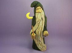 Sculpture sur cadeau figurine collection par OldBearWoodcarving