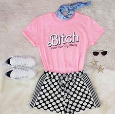 #lookdodia #pink #moda #estilo #outfitoftheday #fashion #style