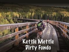 Tri 1 Events has just announced the second year of its annual Kettle Mettle Dirty Fundo, set for October Fun and scenic, this is turning into a major event in the cycling calendar - read all about it! Cycling Events, All Over The World, Kettle, Turning, Calendar, Two By Two, October, Backyard, Fun