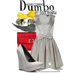 """""""Dumbo"""" by lalakay on Polyvore #disney"""