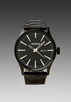 Nixon The Sentry SS in All Black