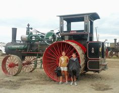 Giant Steam Tractor