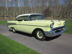 1957 Chevrolet Bel Air Sport Coupe..Re-pin Brought to you by agents at #HouseofInsurance in #EugeneOregon for #LowCostInsurance