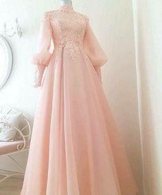 +33 Worth It Muslimah Wedding Dress Syari 121 - bloggerathome.com