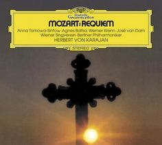 MOZART Requiem Messe KV 317 - Karajan - Deutsche Grammophon