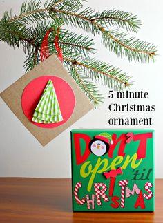 5 minute Christmas o