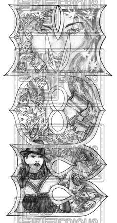 27 Best Cartoon Gangster Tattoo Designs Images Gangster Tattoos