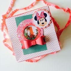 Minnie Mouse Explosionsbox, Stampin Up, Kindergeburtstagsüberraschung,  Geburtstag, Mädchen, Minni Mouse, Sandra Kolb, www.samey.de