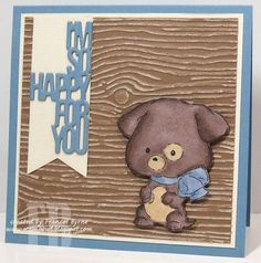So Happy For You created by Frances Byrne using stamps from Art Impressions