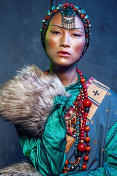 From Fashion World Issue Photographer We Are The World, People Of The World, Ethnic Fashion, Asian Fashion, Pretty People, Beautiful People, Portrait Photography, Fashion Photography, Beauty Around The World