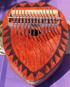 West African-style gourd-based thumb piano kone by PanAfricanArts