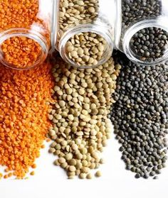 Lately lentils have become a tasty staple in my diet. Low in calories and high in nutrition, lentils are the perfect legume to eat in the summer in salads, spreads, for crudité and crackers, and as Medical Weight Loss, Weight Loss Diet Plan, Fast Weight Loss, Healthy Weight Loss, How To Lose Weight Fast, Weight Gain, Lentil Recipes, Healthy Recipes, Healthy Meals
