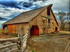 old barns on pinterest | HDR Barn Photography in Barns