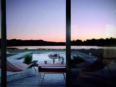 Modern Country House, Ukraine #Homedecor #Outdoor