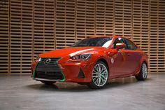 The Lexus Sriracha IS Brings the Heat to the LA Auto Show.