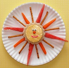 Sunny snack.