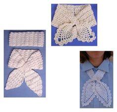 Maggie's Crochet · Pineapple Scarf Set Crochet Pattern