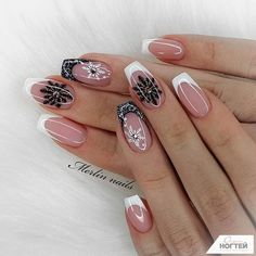 Are you looking for a gel nail art design and ideas? See our interesting collection of gel nail designs. I hope you can find the one you like best. Gel Nail Art Designs, Cute Nail Designs, Nails Design, Christmas Nail Art, Holiday Nails, Simple Christmas, Natural Gel Nails, Gel Nagel Design, Manicure Y Pedicure