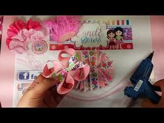Moño con loops - YouTube Boutique Hair Bows, Bow Hair Clips, How To Make Bows, Projects To Try, Diy, Youtube, Birthday, Hairbows, Handmade