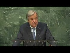 António Guterres, Holocaust Memorial. United Nations, 27 Jan